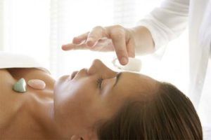 Crystal Reiki session