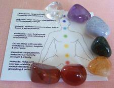 Chakra man and 7 stones